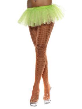 Ladies Fancy Dress - Neon Green 80s Tutu
